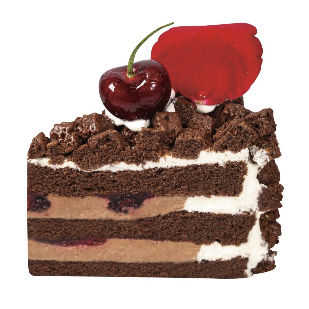 樱桃巧克力切片小蛋糕