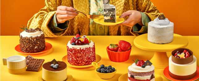 初春新品小蛋糕合集   不要拒绝生活的这份仪式