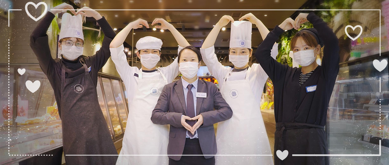 巴黎贝甜积极防疫,全程加强食品安全传递安心外卖