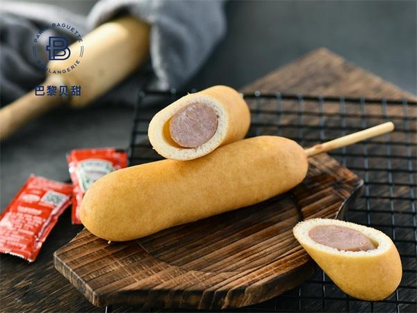 美式热狗棒面包