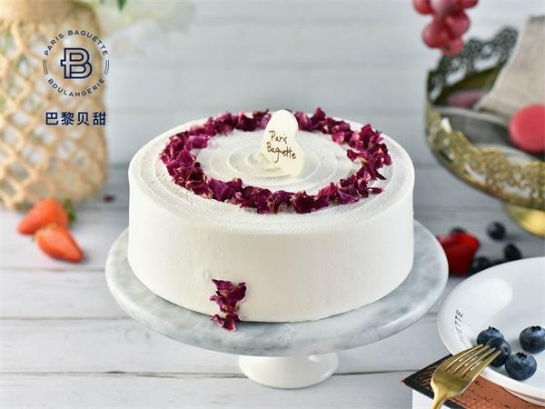 荔枝玫瑰蛋糕