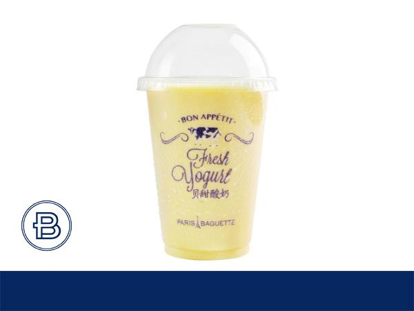 芒果味酸奶饮品