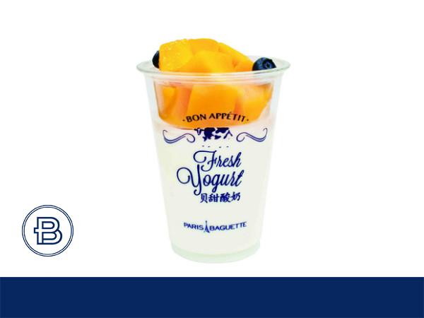 芒果酸奶饮品