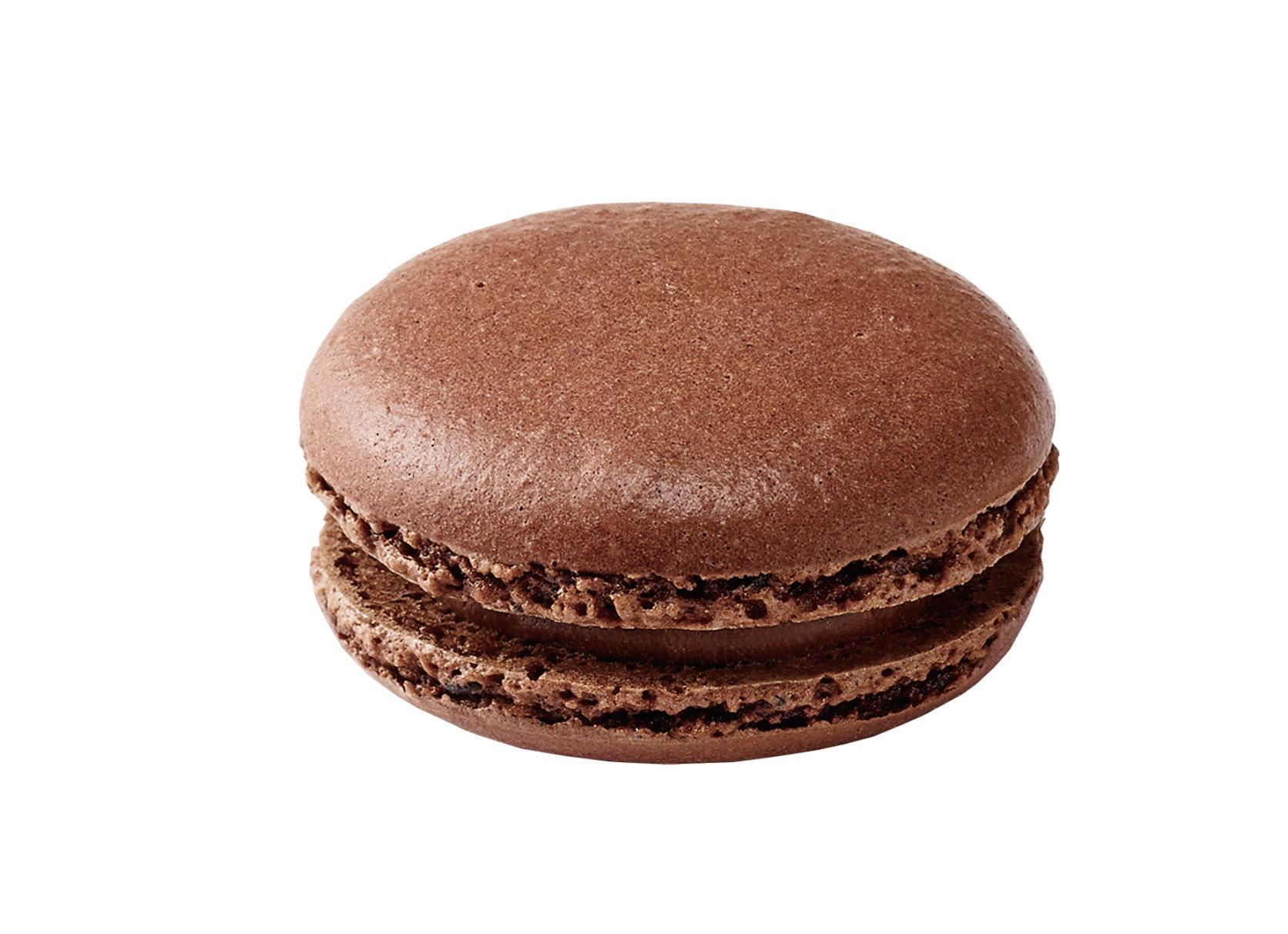 巧克力味马卡龙