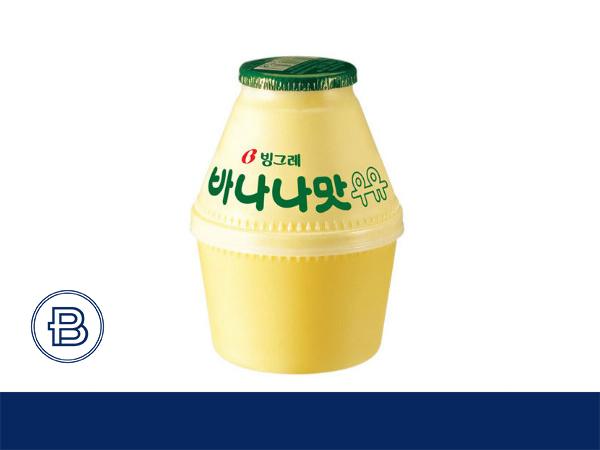 宾格瑞香蕉牛奶